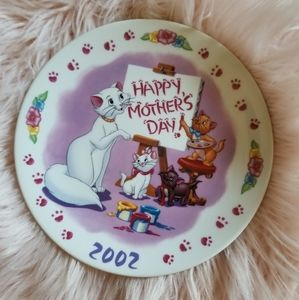 Disney Mothers Day Plate 2002